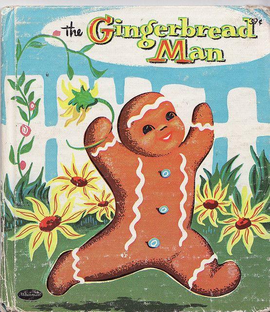 The Gingerbread Man Vintage Children S Books Old Children S