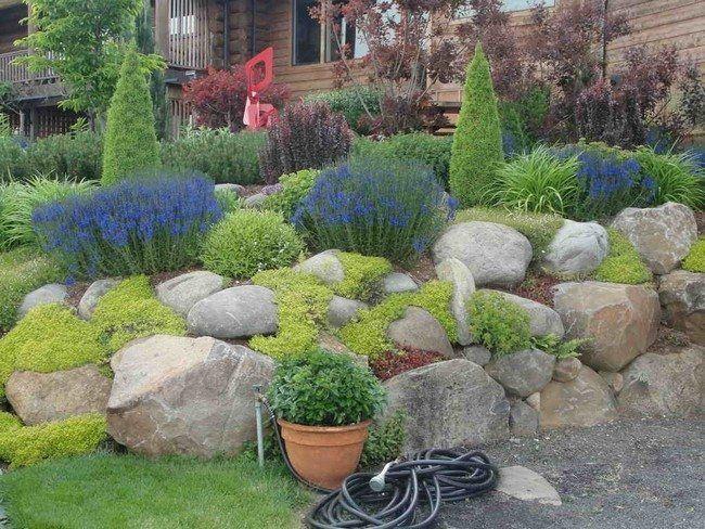 Best Large Rock Landscaping Ideas Garden Inspiration Decor Around The World
