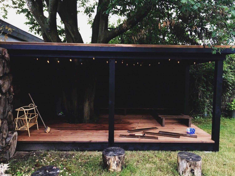 shelter til haven