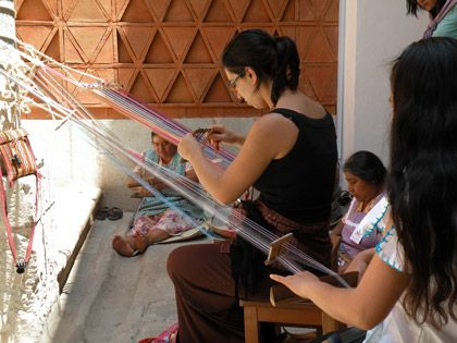 featured crafts from the state of Oaxaca - Oaxaca textile museo