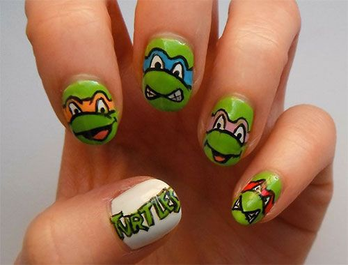 20 teenage mutant ninja turtles nail art designs ideas stickers 20 teenage mutant ninja turtles nail art designs ideas stickers 2014 tmnt nails prinsesfo Gallery