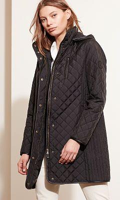 Quilted Hooded Jacket - Lauren Coats - RalphLauren.com