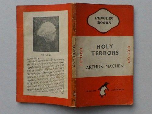 Holy Terrors, Arthur Machen. No.526 Vintage Penguin book | eBay