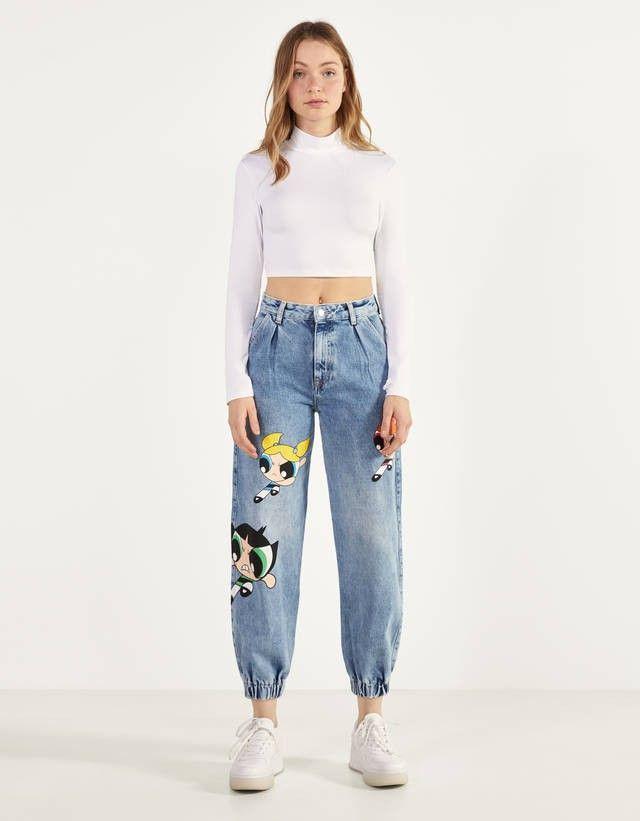 Pin De Scarlet B En Jeans Pantalones Bershka Mujer Ropa Ropa De Moda