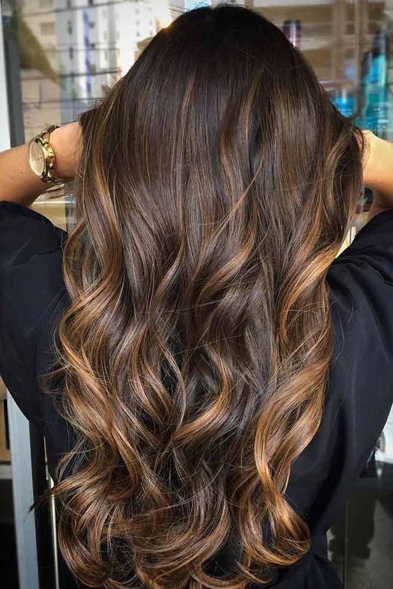 47 Highlighted Hair For Brunettes Highlights Pinterest