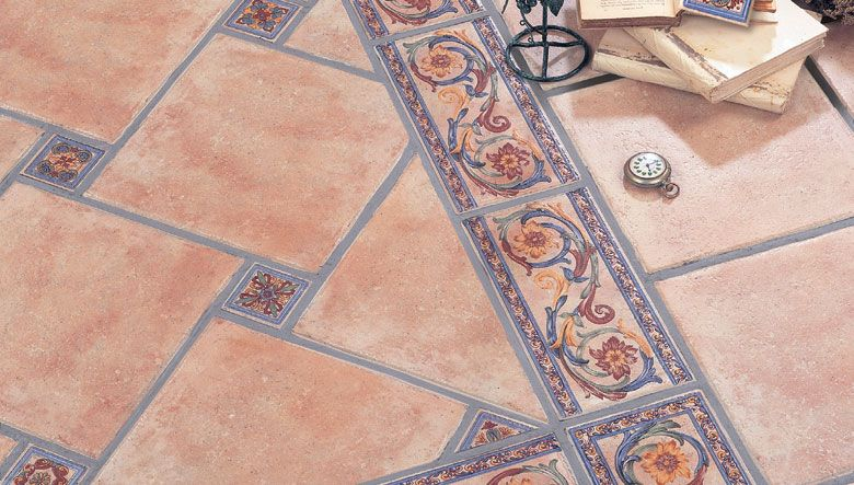 La clase y elegancia de la baldosa de barro cocido tan for Suelos de ceramica rusticos