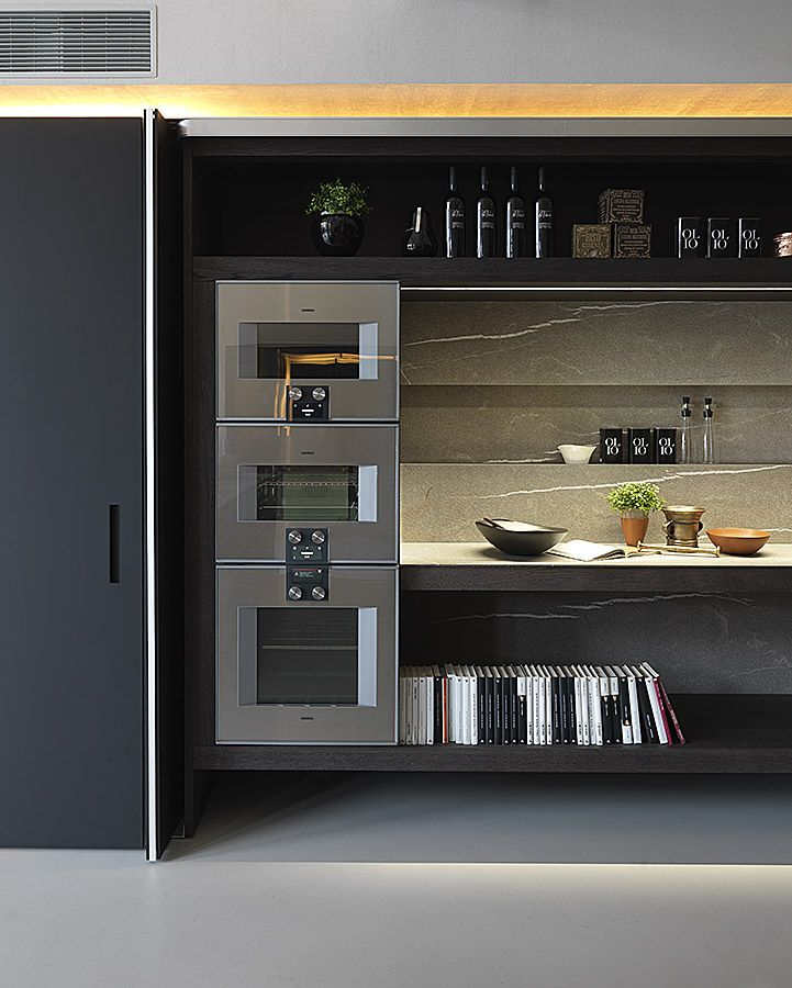 Hidden Kitchens: Modulnova Blade Unicore With Gaggenau Appliances And