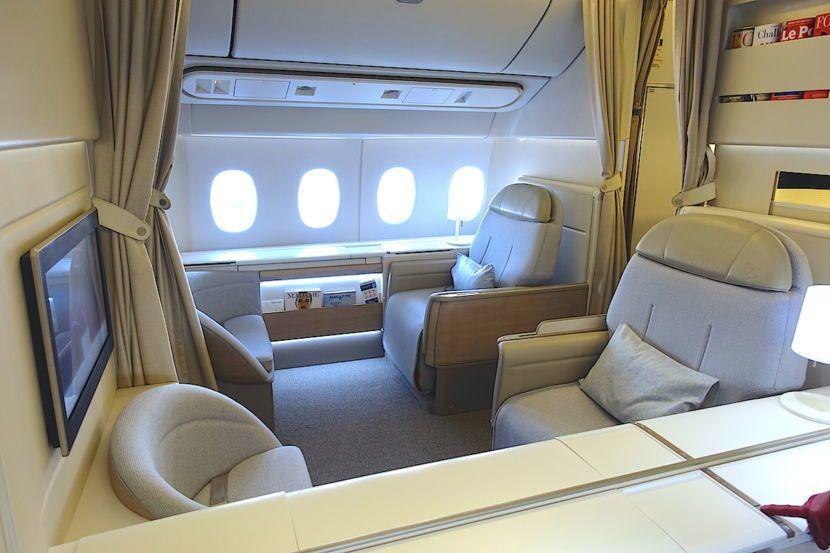 Review Air France 777 300er Business Cl La To Paris