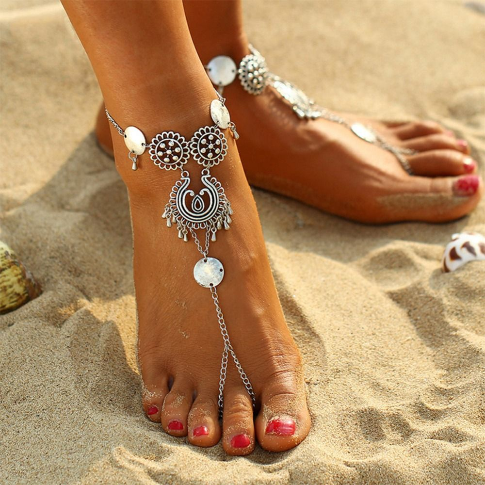 Image Result For Bohemian Anklets Beach Foot Jewelry Boho Style