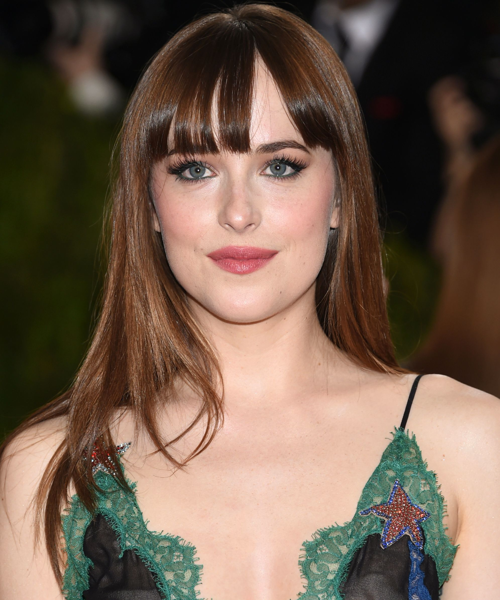 The Best Celebrity Long Hairstyles with Bangs