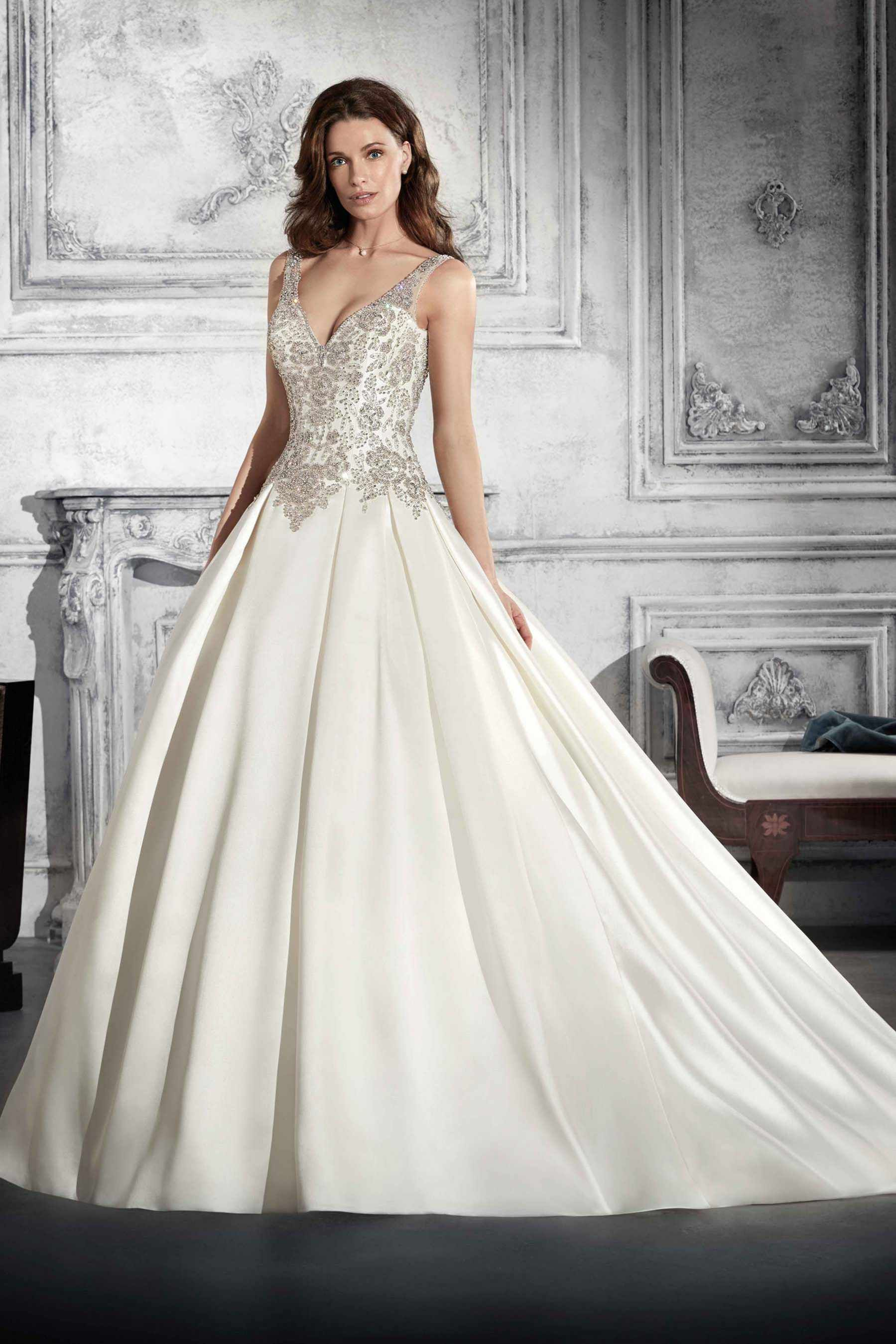 Styles of wedding dresses  Demetrios Wedding Dress Style  This bridal gown is where glam