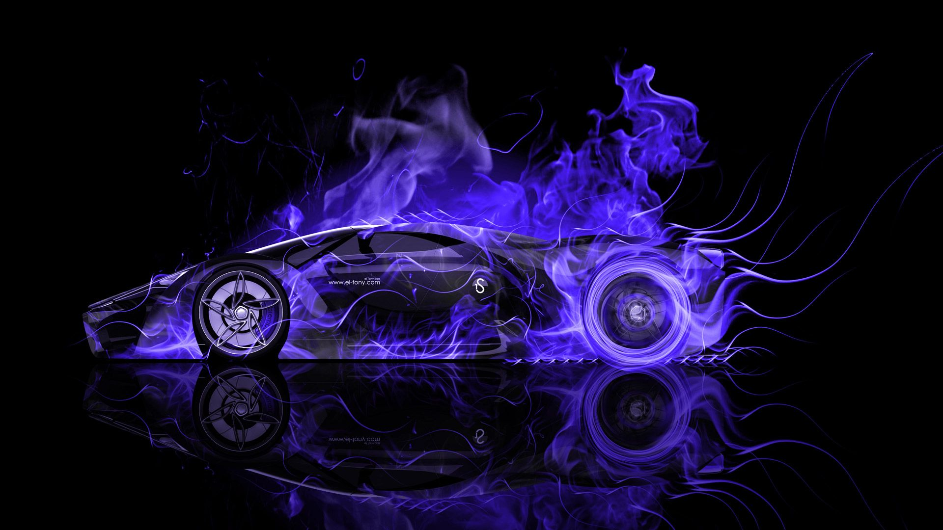 Superieur Ferrari F80 Side Fire Abstract Car 2014 « El Tony