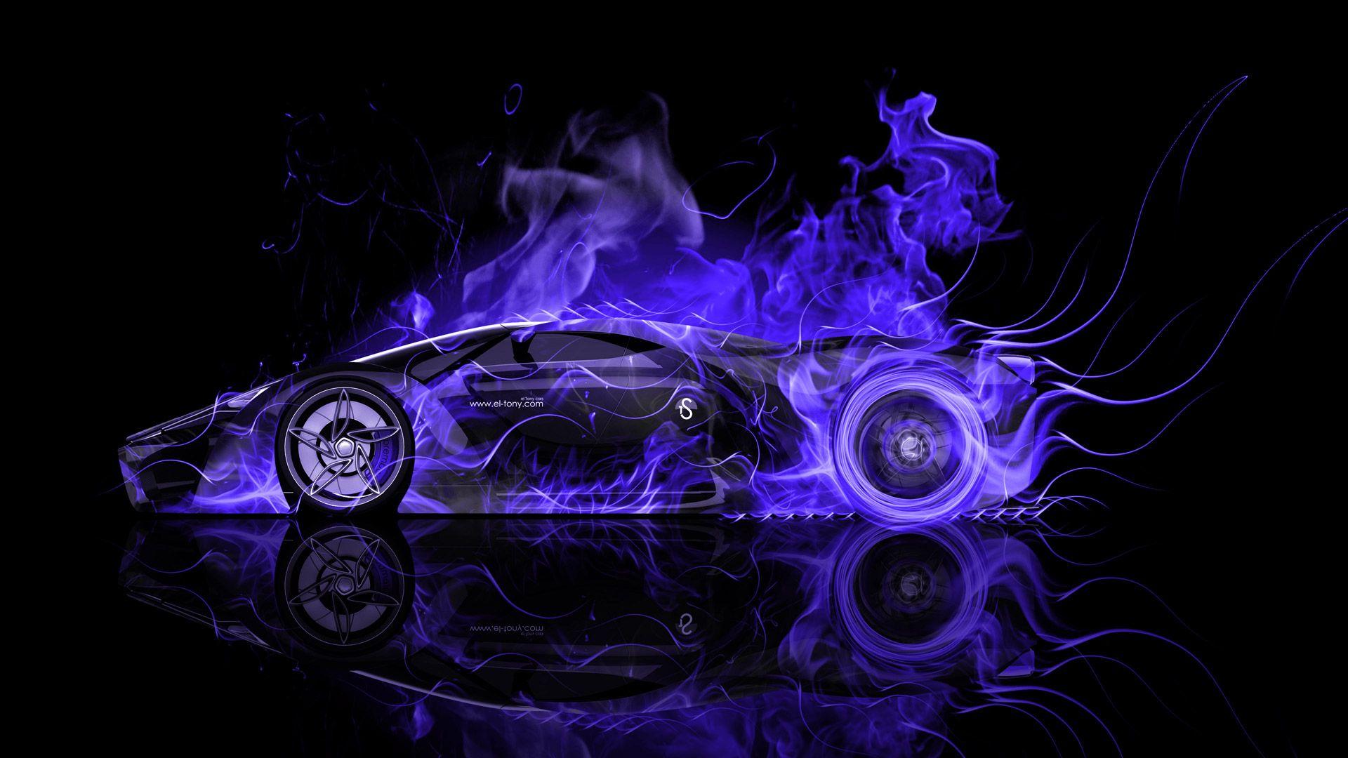 Genial Ferrari F80 Side Fire Abstract Car 2014 « El Tony