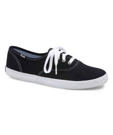 Look what I found on #zulily! Black Champion Sneaker #zulilyfinds