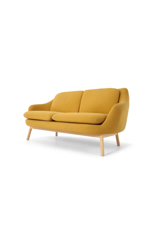 Oslo 2 Sitzer Sofa Dottergelb Sofa Furniture Couch