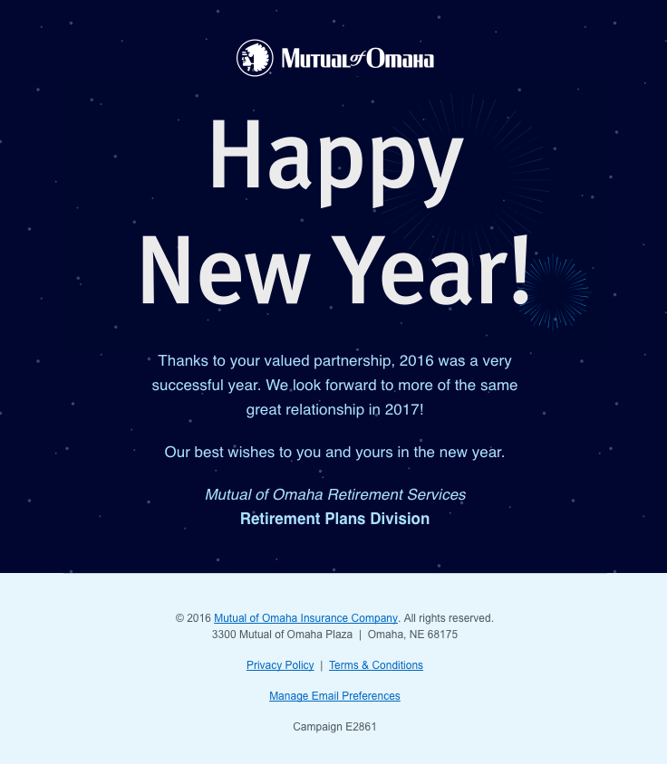 Mutual Of Omaha Insurance Sent This Email With The Subject Line