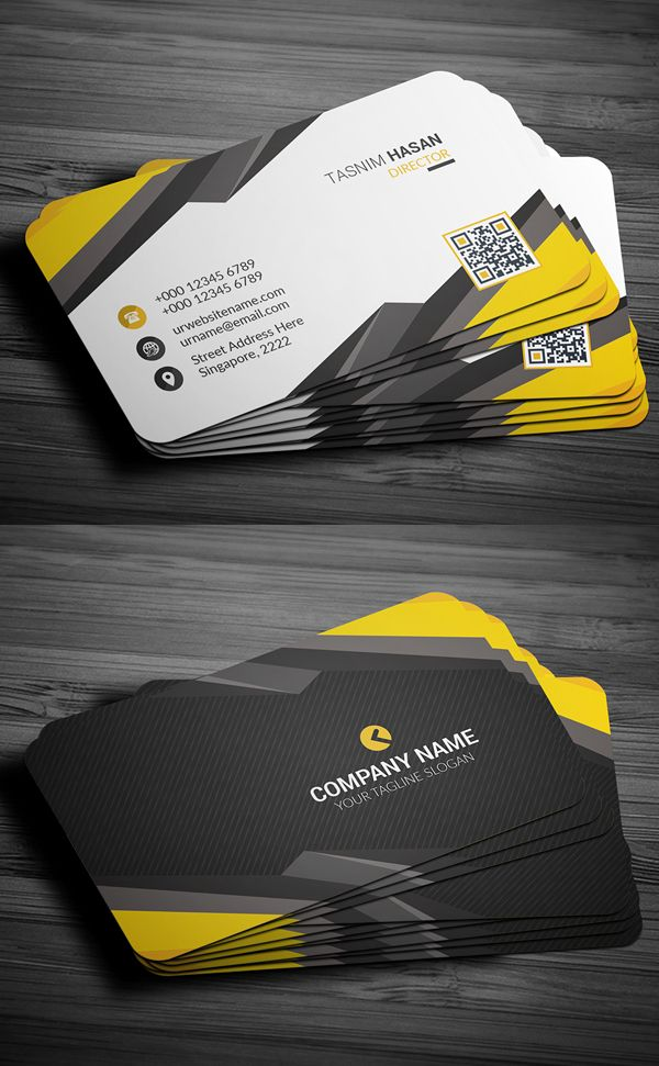 Corporate Business Card  Design  Creativity