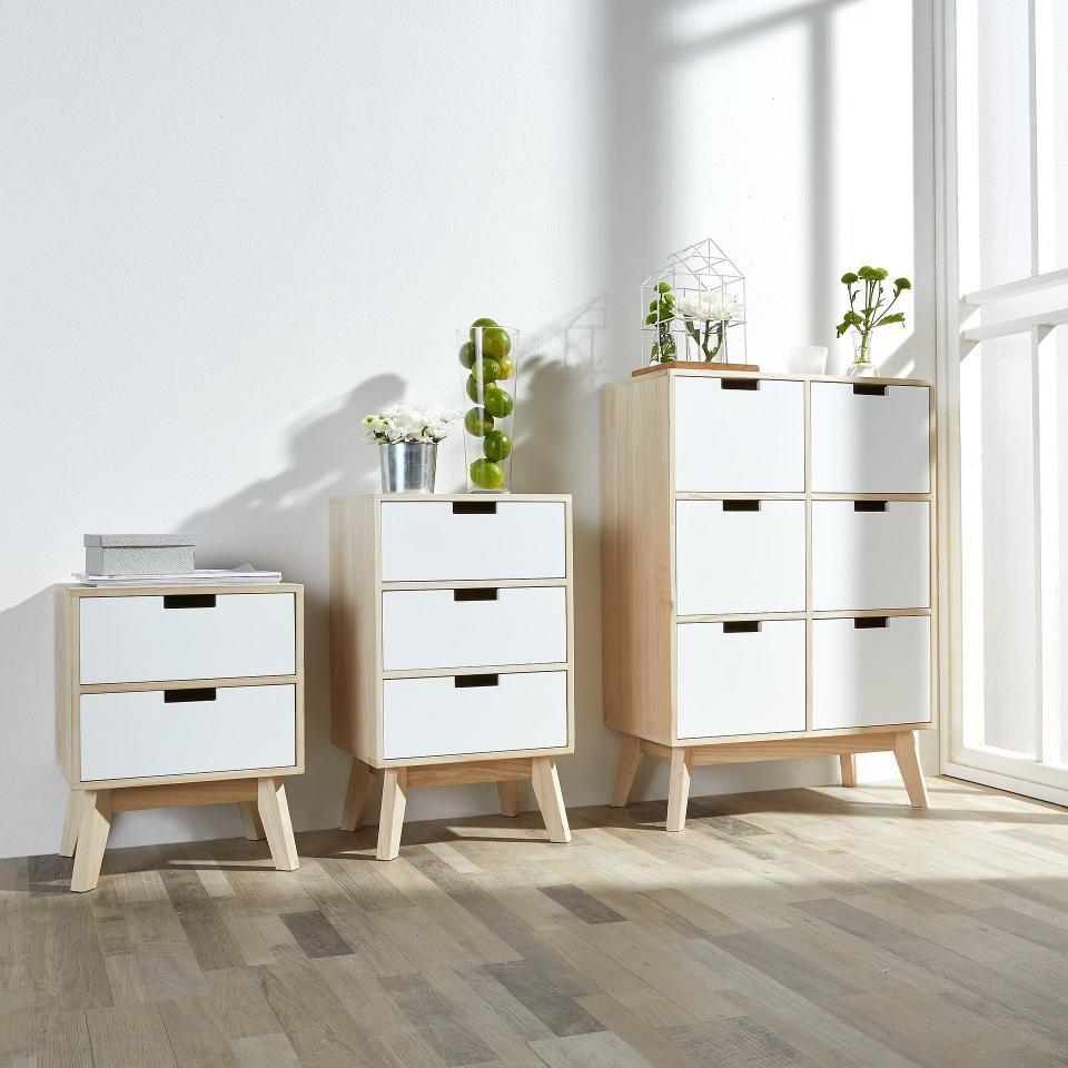 Dänisches Bettenlager Schlafzimmer kommode torrig (6 schubladen) - dänisches bettenlager | schlafzimmer