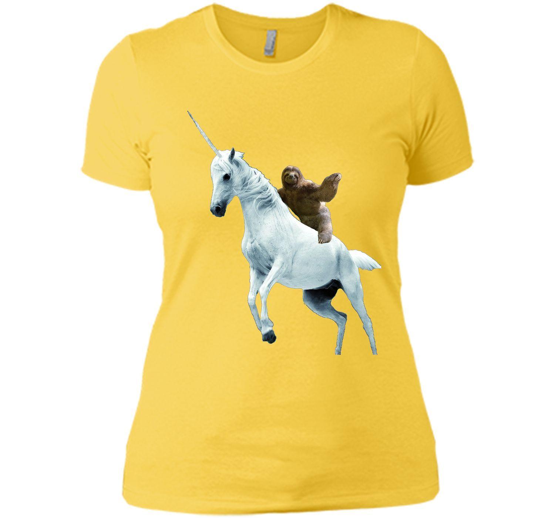 4d819a86247f Unicorn Sloth T Shirt Design- Funny Animal T Shirt | Products