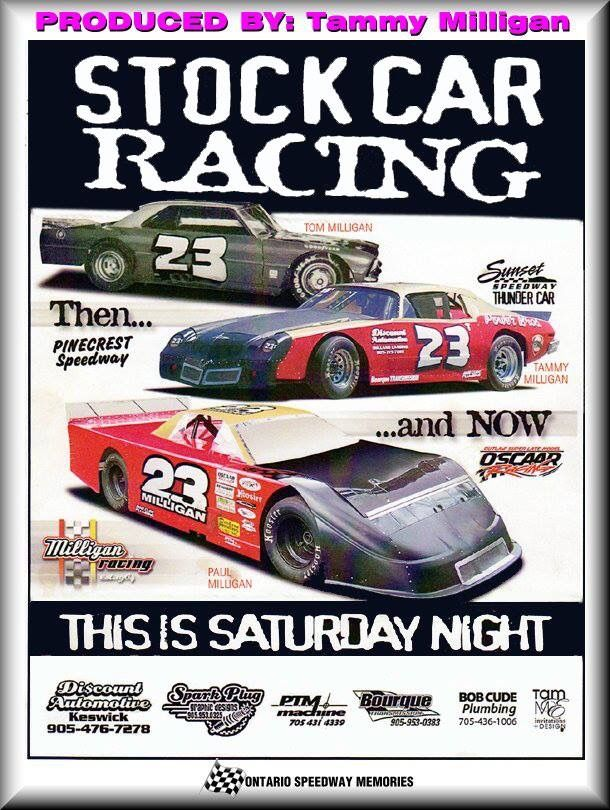 Pin By Kevin On Racing In Ontario Old Race Cars Stock Car Racing Stock Car