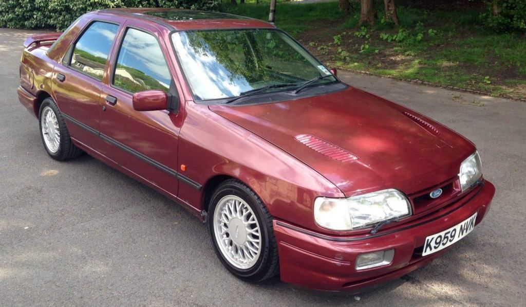 FOR SALE – 1992 FORD SIERRA SAPPHIRE COSWORTH 4×4... VIEW EBAY AD ...