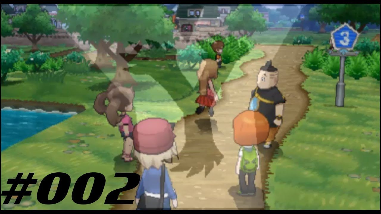 Let's Play Pokemon Y - Episode #002 - Clearing Routes and Killing Bugs!