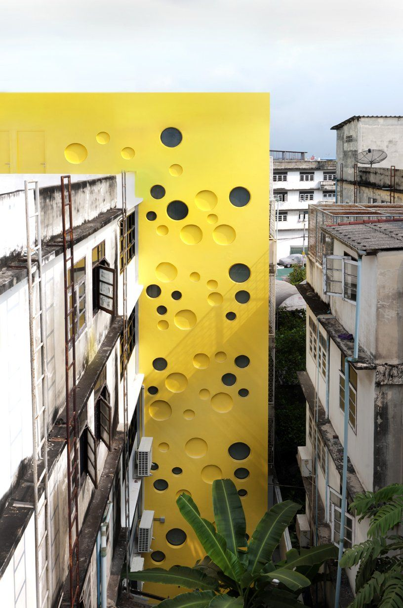 High Definition: Architecture in Yellow, Fai-Fah by Spark