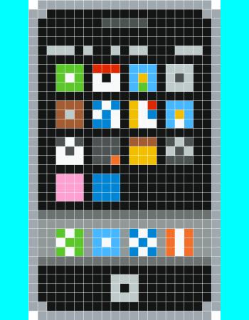 IPhone No Minecraft? Eu Podia Fazer Esse Mod E Pegar Essa Imagem Pra  Textura. Créditos Para Qm Fez Esse Template Abaixo