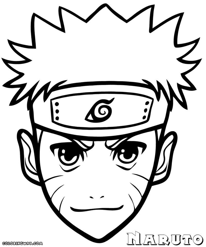 Have Fun With These Naruto Coloring Pages Ideas Easy Drawings Anime Boy Sketch Naruto Drawings
