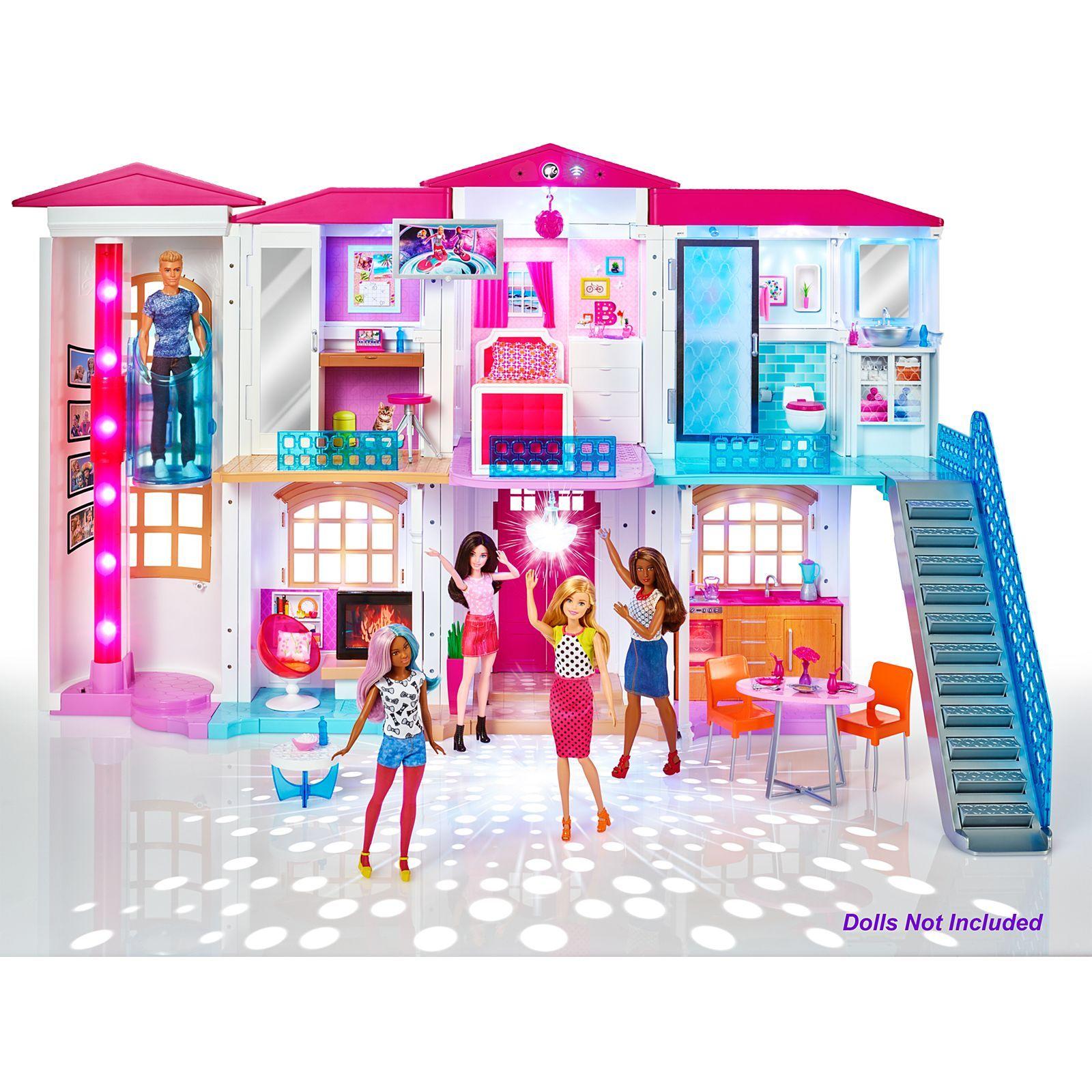 Barbie Hello Dreamhouse Dpx21 Barbie Barbie Smart House Barbie Doll House Barbie Dream House