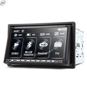 gps med kart Eonon G2213DVE 2 Din DVD Spiller Til Bilen Med Stemmestyring Og  gps med kart