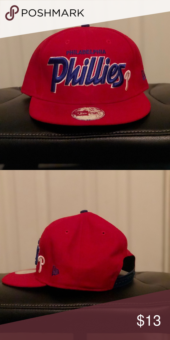 15f90ad523a Philadelphia Phillies Hat (New Era) New Era Phillies SnapBack New Era  Accessories Hats