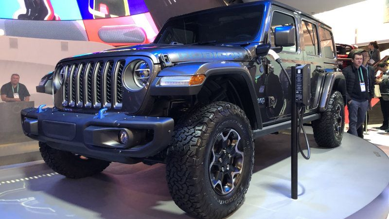 Jeep Wrangler Plugs In At Ces Giving Us Our First Look At The 4xe Phev In 2020 Jeep Automotive News Automotive