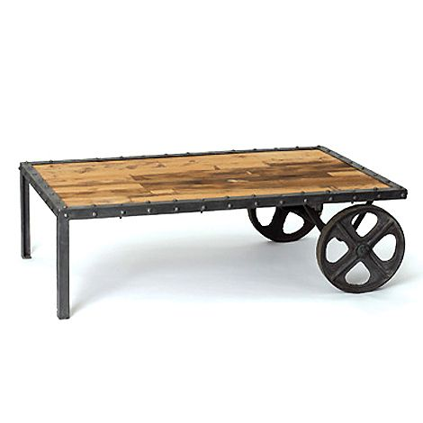 Pullman Coffee Table Cart Coffee Table Vintage Industrial