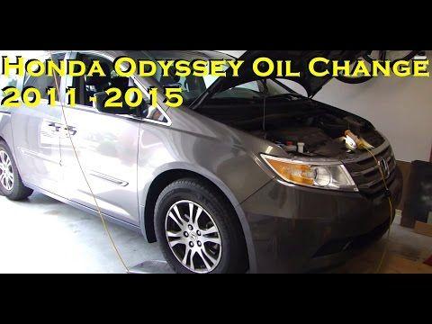Honda odyssey 2015 oil change
