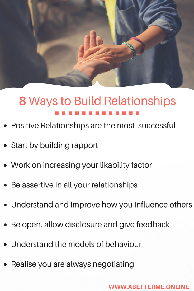 8 Ways To Build A Better Relationship