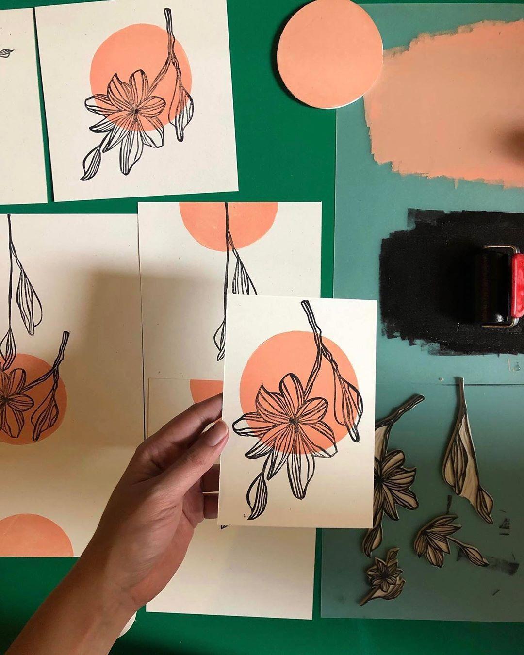 "Kiamon Wedding on Instagram: ""Handprinted ➡️ wedding card . . . . . . . . . . . . . . #wedding #weddingcard #weddingcards #weddingcarddesign #partecipazionimatrimonio…"""