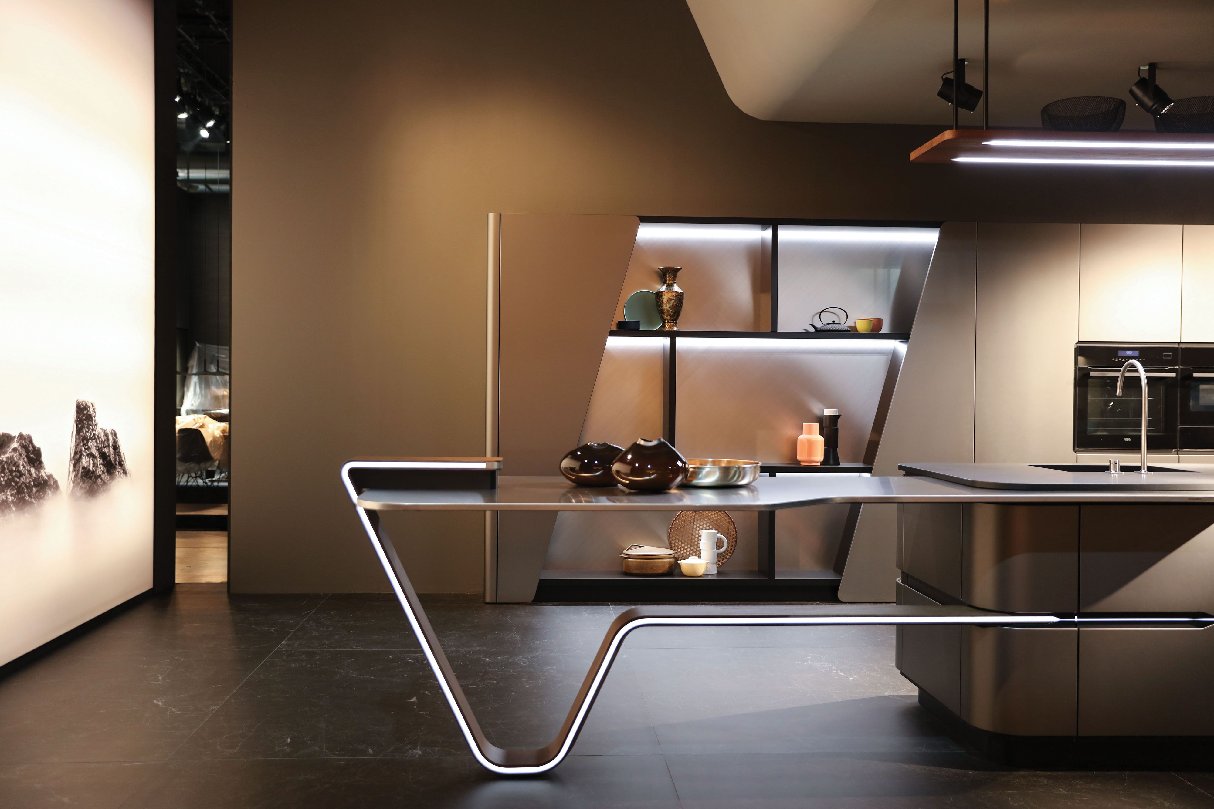 vision by pininfarina design for snaidero imagining the kitchen as rh pinterest com