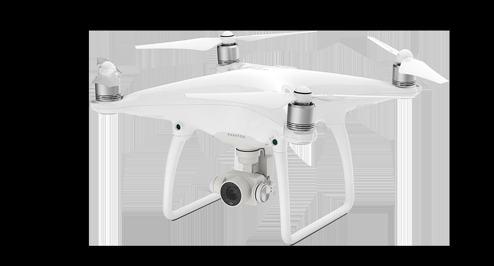 PHANTOM 4 - Le Phantom 4 est la caméra volante la plus intelligente que DJI ait jamais créée.