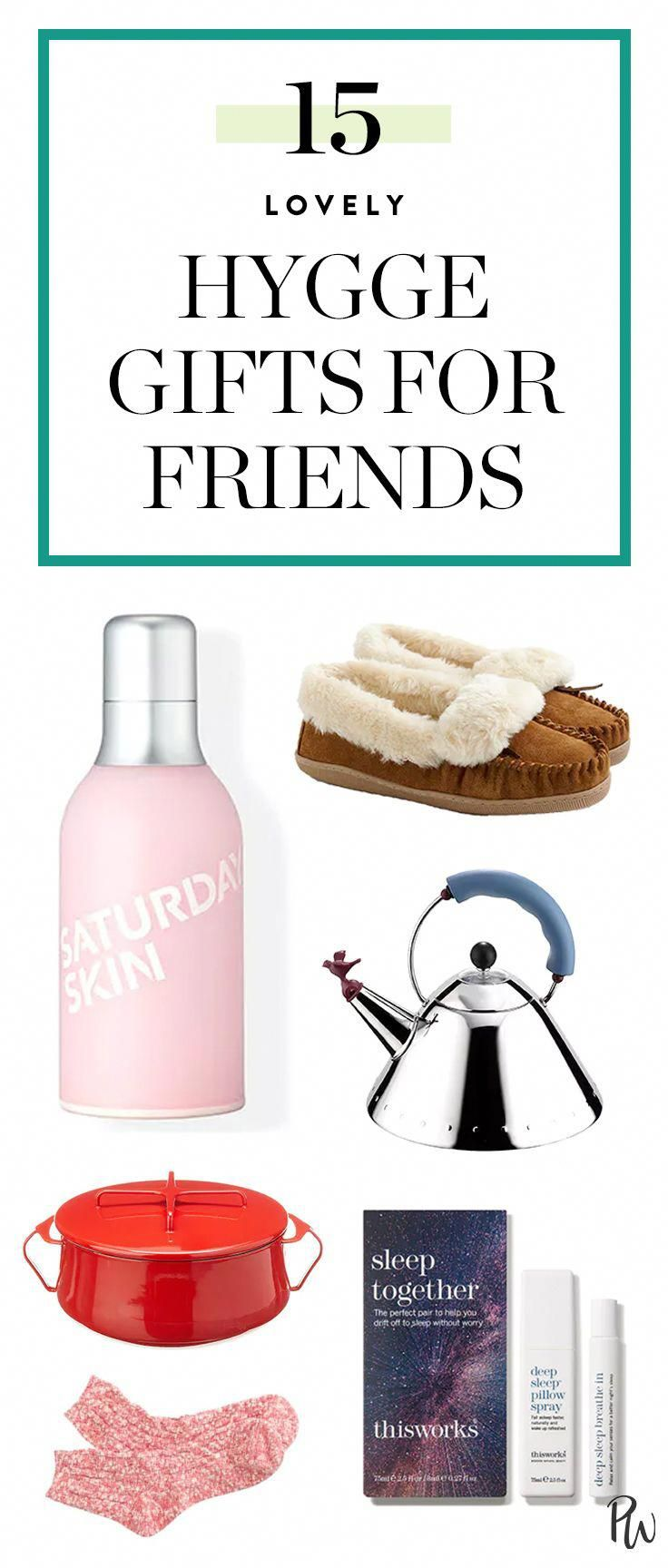 15 Hygge Gifts For Friends giftsforfriends giftguide