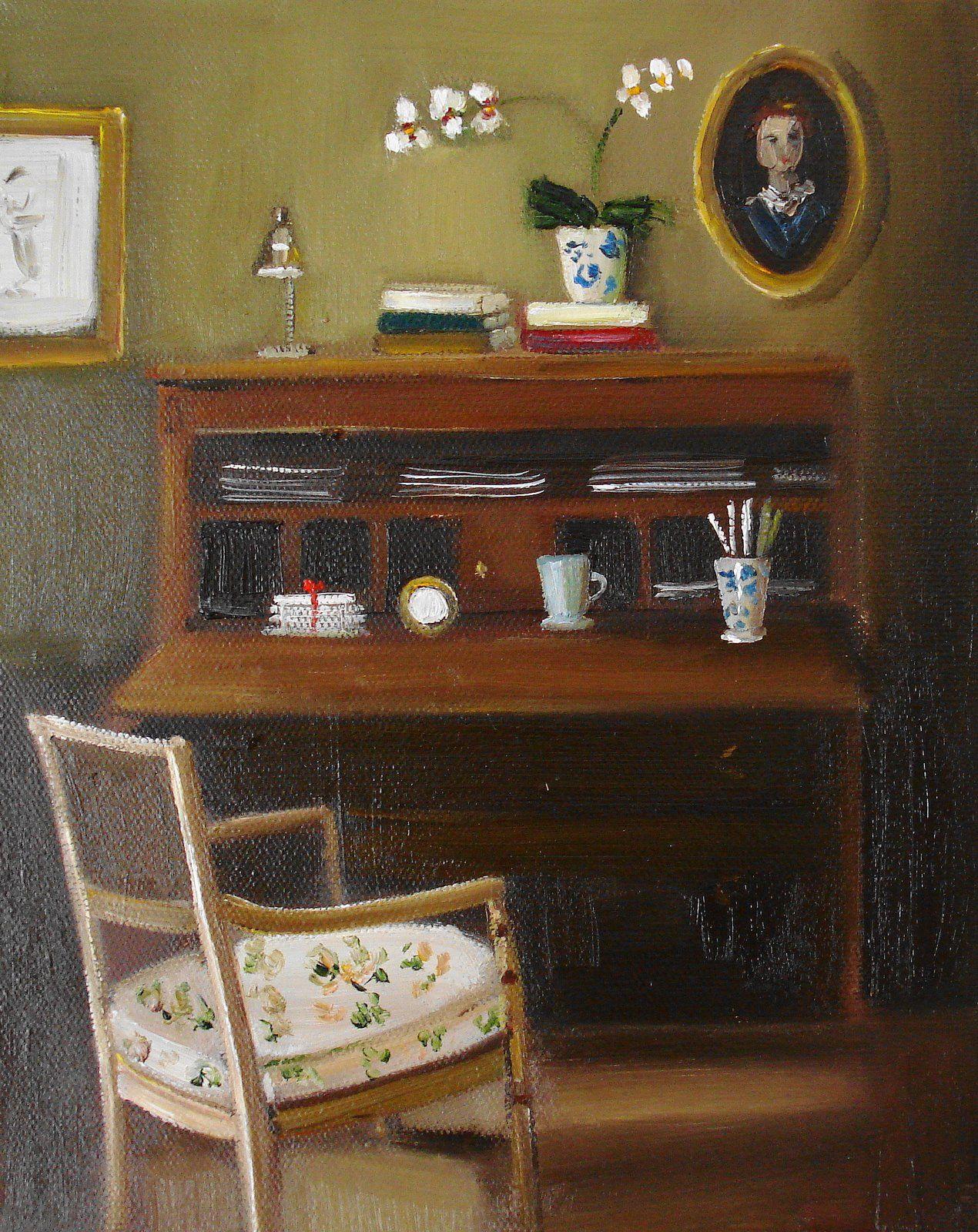 """Secretary"" by Janet Hill"