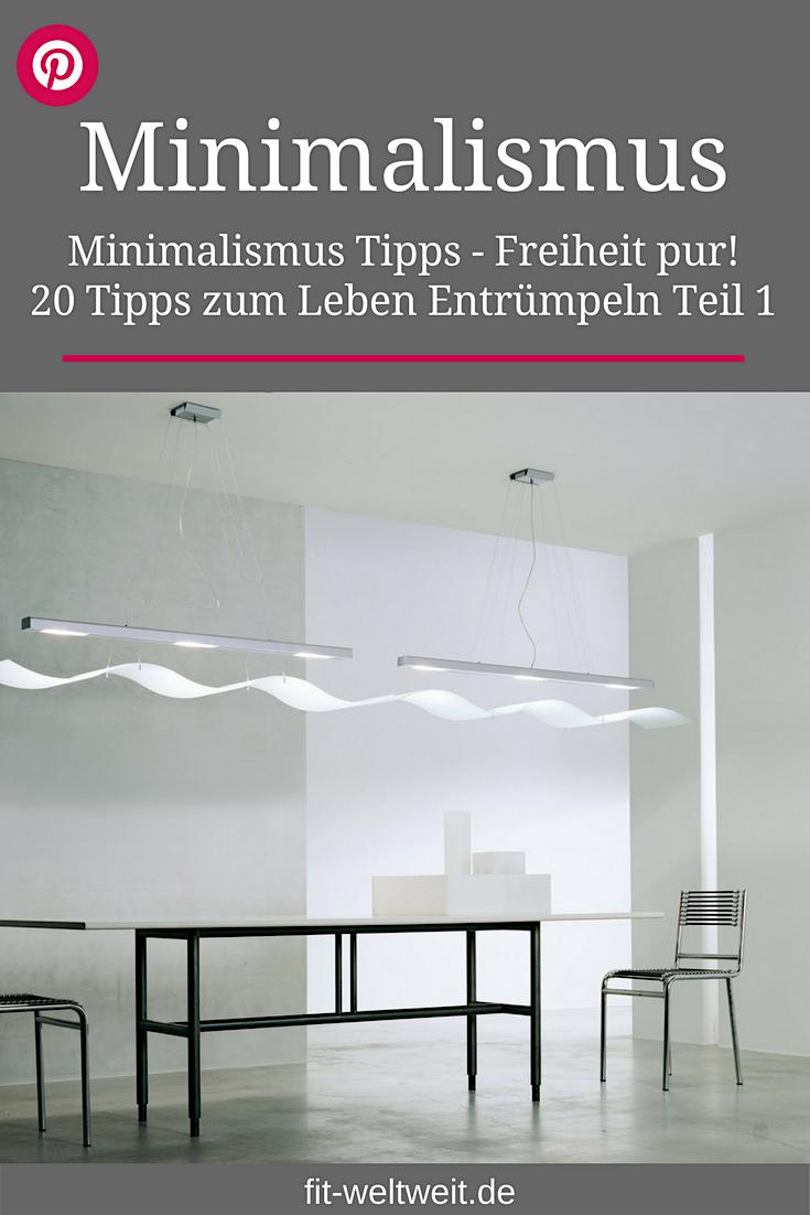 Minimalismus tipps 20 tipps zum leben entr mpeln teil 1 for Minimalistisch leben blog