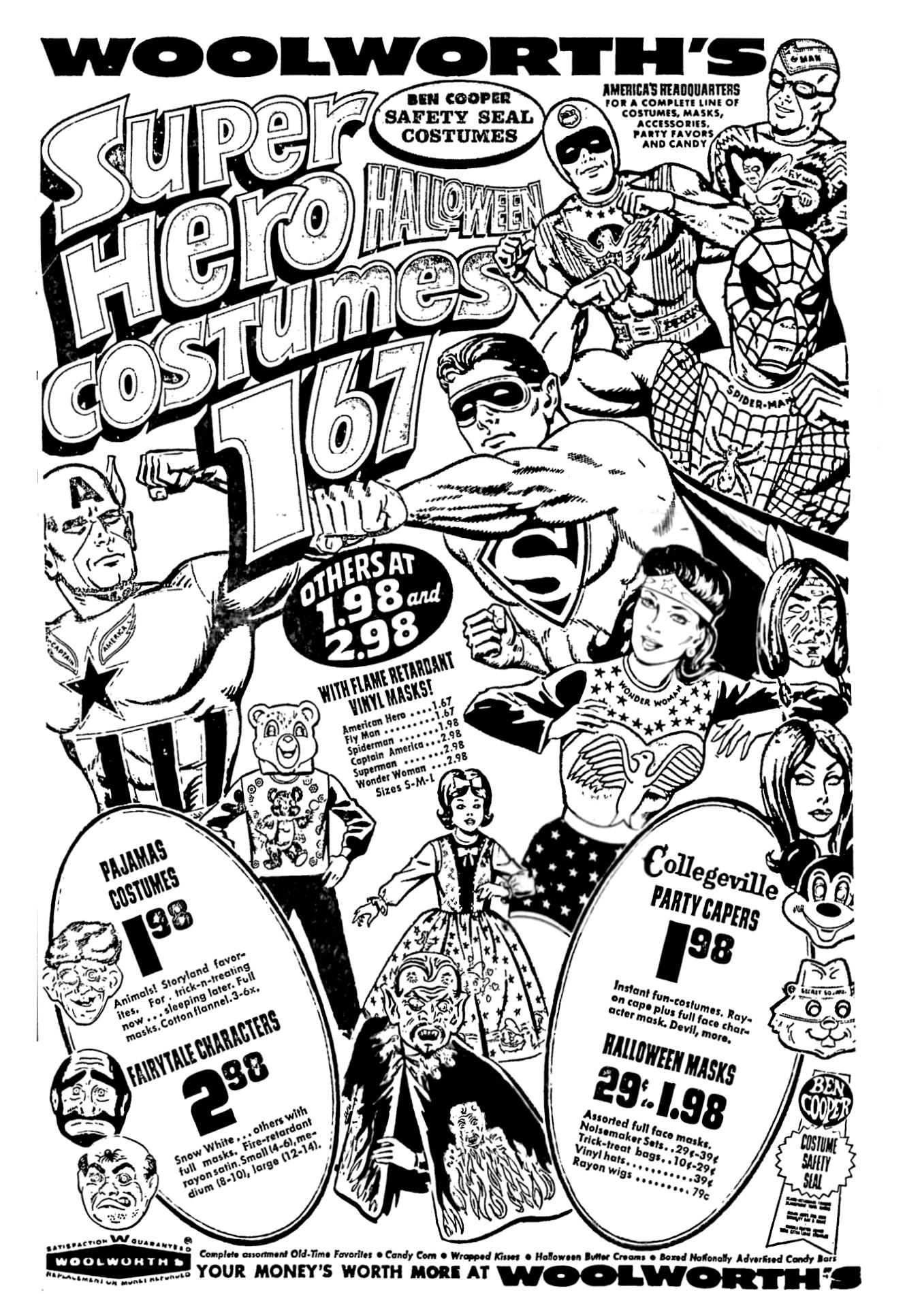 woolworth halloween 1967 october in 2019 Vintage