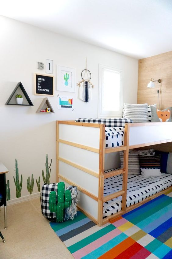 52 Wonderful Shared Kids Room Ideas For Boys And Girls Kids