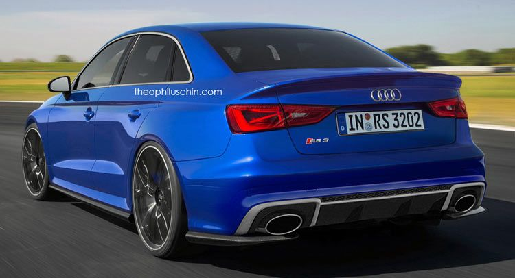 Audi Rs3 Sedan To Enter Production With 400hp