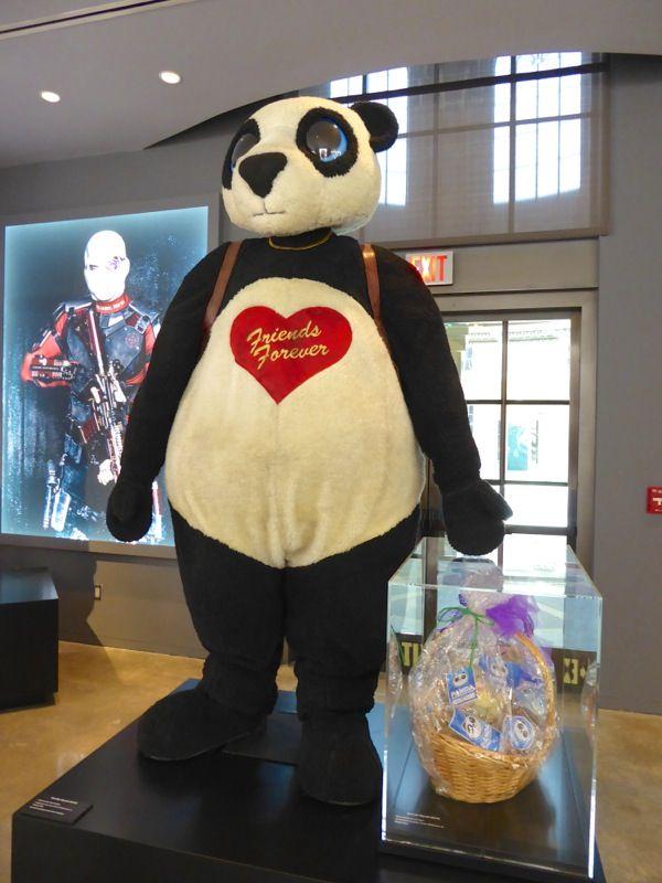 james mcgowan panda man suicide squad costume movie. Black Bedroom Furniture Sets. Home Design Ideas