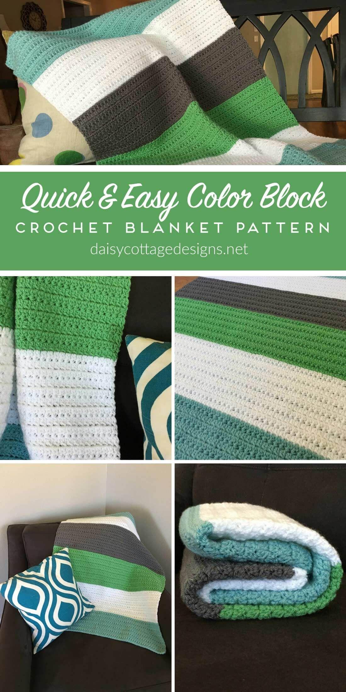 Crochet Baby Blanket from | Manta, Alfombra de ganchillo y Tejido