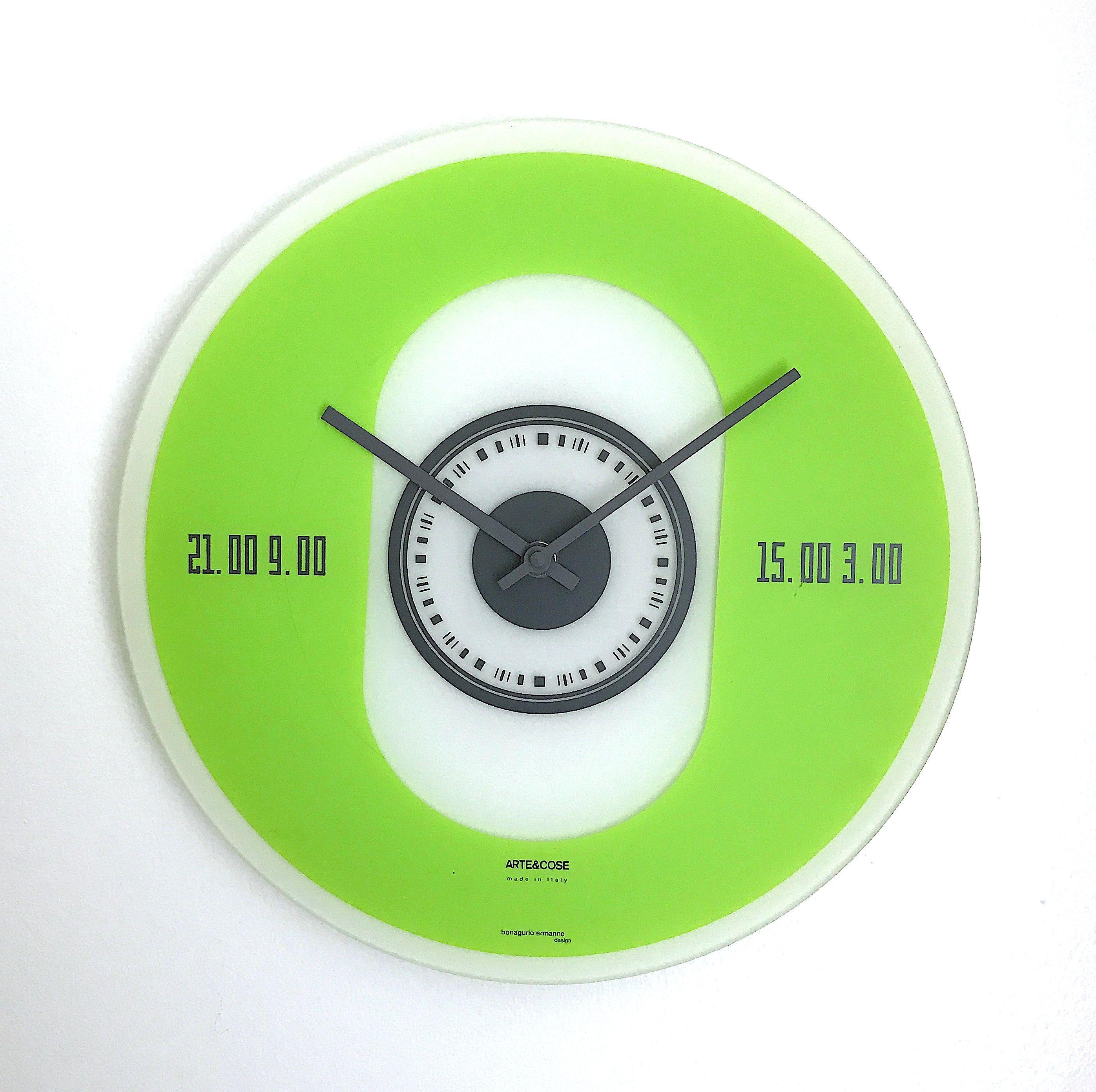 Artecose wall clock by bonagurio ermanno design mad for mod artecose wall clock by bonagurio ermanno design amipublicfo Images
