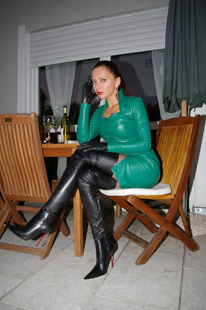 Pin by barney red on well dressed femdom | Pinterest | Leather