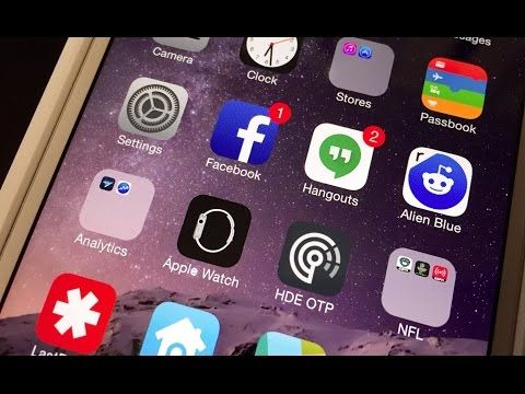 Remove Stock Apple Apps from Your iPhone's Home Screen - iOS